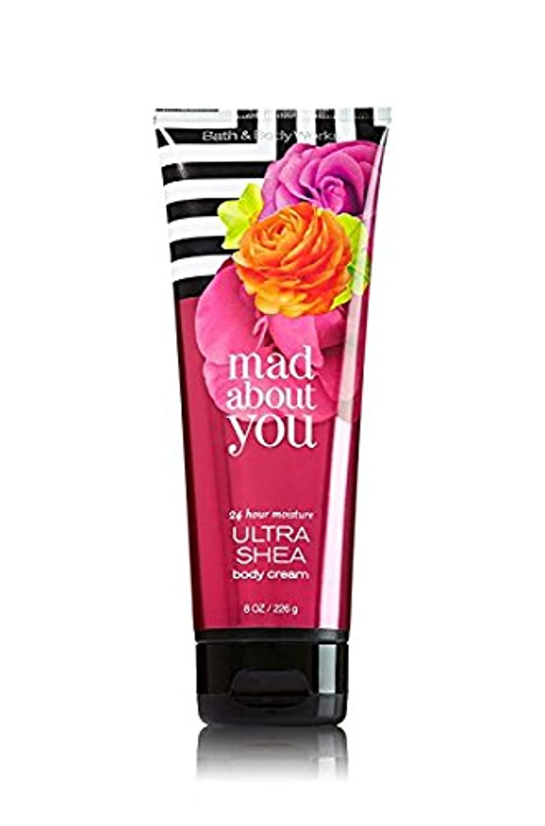 力大工衣服【Bath&Body Works/バス&ボディワークス】 ボディクリーム マッドアバウトユー Body Cream Mad About You 8 oz / 226 g [並行輸入品]