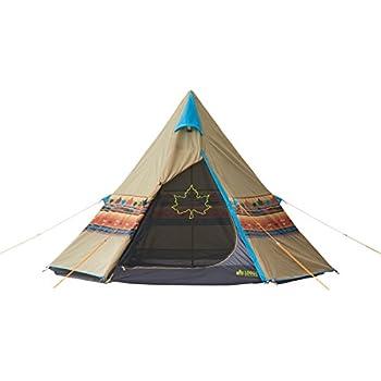 ロゴス(LOGOS)  テント 2~3人用 LOGOS ナバホTepee 300 71806501 組立て簡単ワンポールテント