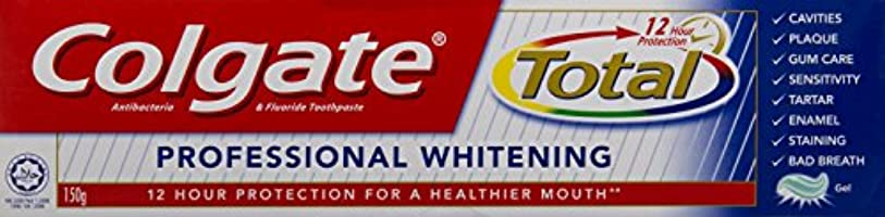 ジュニアやろうアセンブリ(コルゲート)Colgate 歯磨き粉 Total (150g, ホールマウスヘルス)