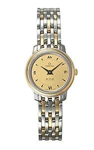(オメガ) OMEGA 腕時計 デ・ビル プレステージ SS&YGコンビ 424.20.24.60.08.001 ゴールド レディース [並行輸入品]