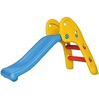すべり台 室内 遊具 キッズ すべりだい 滑り台 (イエロー&ブルー) 子供 折りたたみ 滑り台 スライダー 誕生日 プレゼント 男の子 女の子 プレイルーム