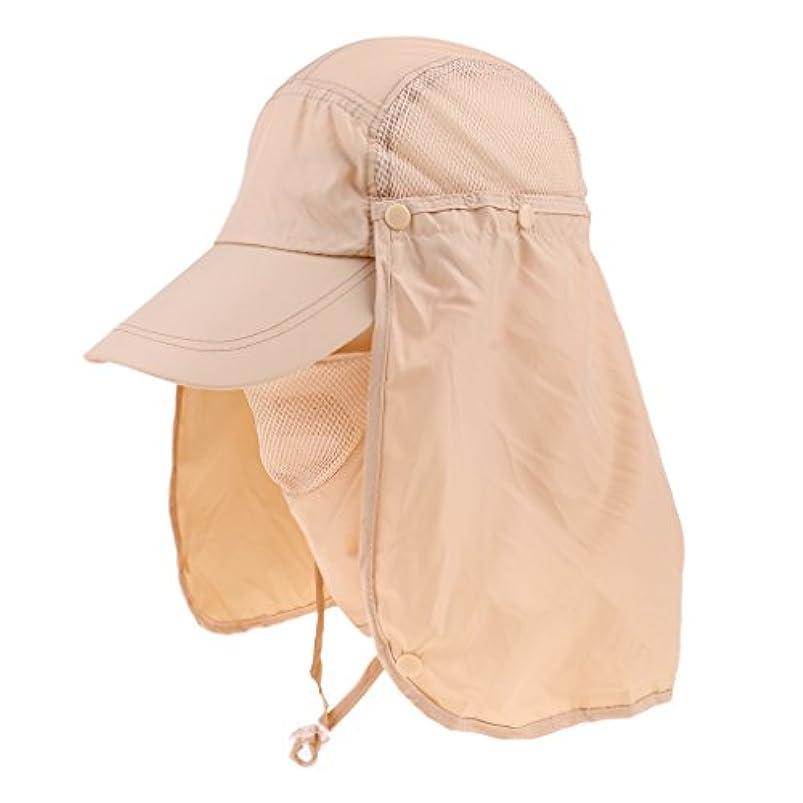 ポーク講義影響を受けやすいですSunniMix 全3色 屋外帽 キャップ 作業用 帽子 カバー 360度 抗蚊虫 キャンプ 農業 釣り 頭/耳/髪保護