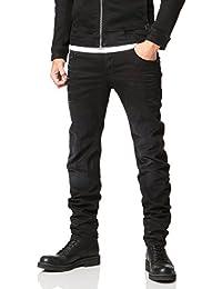 G-Star RAW(ジースターロゥ) ARC スリムフィット 暖かい ブラックジーンズ メンズ デニム