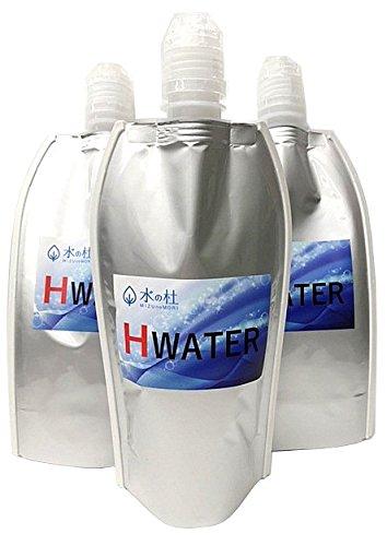 水素水専用保存容器 HWATER-BAG 500ml 3個セ...