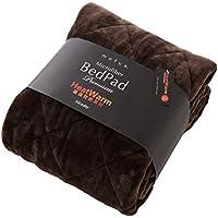 ナイスデイ 敷きパッド ブラウン シングル mofua ヒートウォーム 発熱 +2℃ 60110106