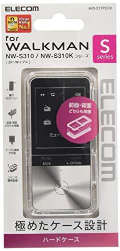 エレコム Walkman S ハードケース クリア AVS-S17PCCR