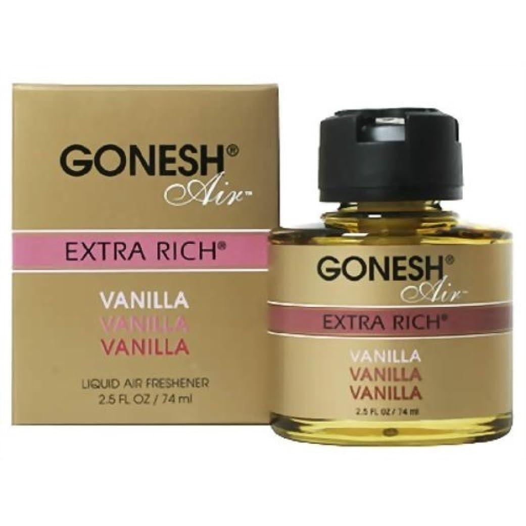 噴出する検出する悪因子GONESH リキッドエアフレッシュナー バニラ