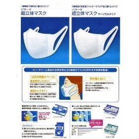ソフトーク超立体マスク サージカルタイプ 1箱(100枚入)
