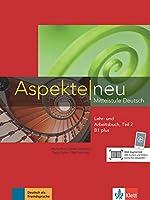 Aspekte neu in Halbbanden: Lehr- und Arbeitsbuch B1 plus Teil 2 mit CD