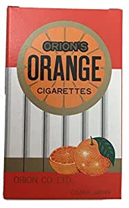 オレンジシガレット 30個入 清涼菓子