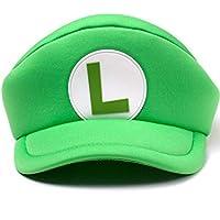 Nintendo Green Super Mario - Luigi Shaped Cap