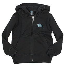 STUSSY kids Basic Stussy Zip Hoodie