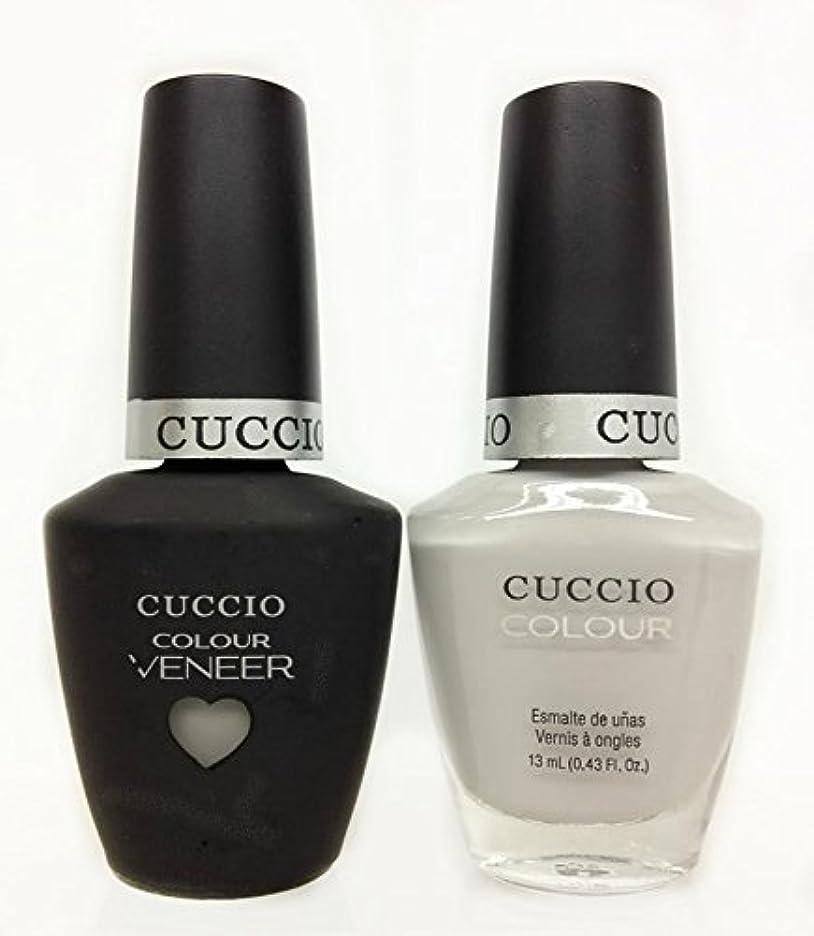スピン年金モールス信号Cuccio MatchMakers Veneer & Lacquer - Quick as a Bunny - 0.43oz / 13ml Each