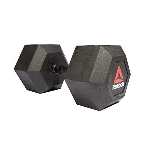 Reebok(リーボック) ファンクショナル ヘックスダンベル Hex Dumbbell - 5kg ラバーダンベル 筋トレ RSWT-11050