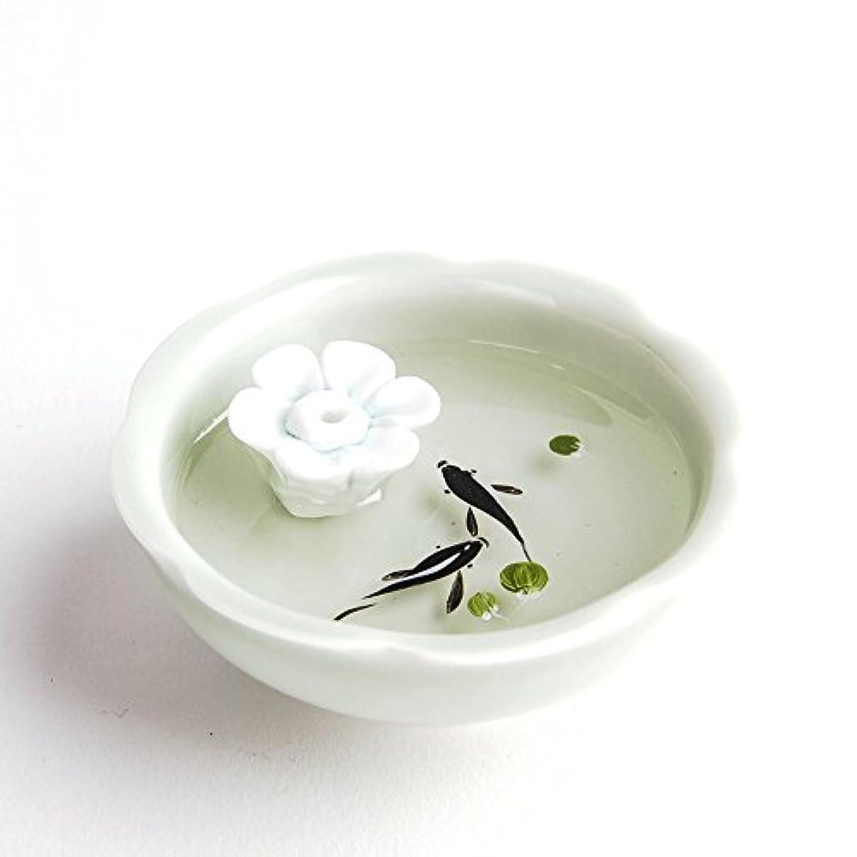 分類する動勤勉お香立て お香たて 香の器 お香を焚いて 香皿,陶磁器、白