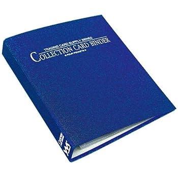 やのまん コレクションカードバインダー 4ポケット ブルー