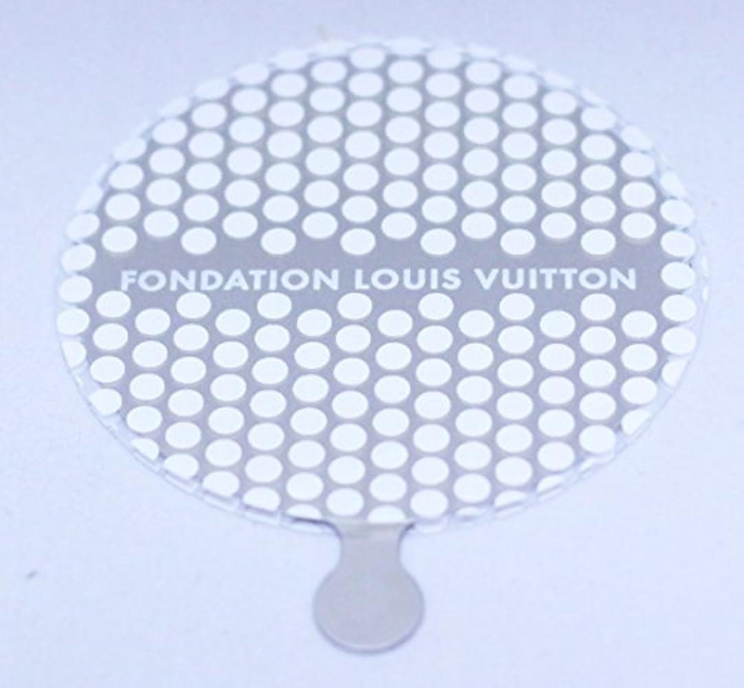 コピー乱気流郵便物ルイヴィトン財団 美術館 限定 FONDATION LOUIS VUITTON ハンドミラー [並行輸入品]