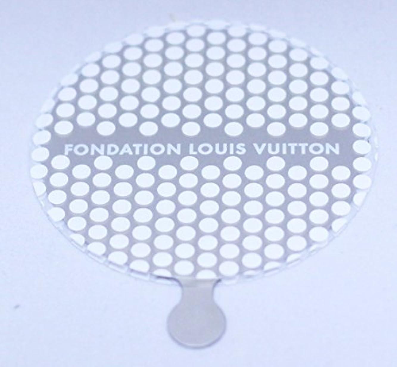 電極ポット目的ルイヴィトン財団 美術館 限定 FONDATION LOUIS VUITTON ハンドミラー [並行輸入品]