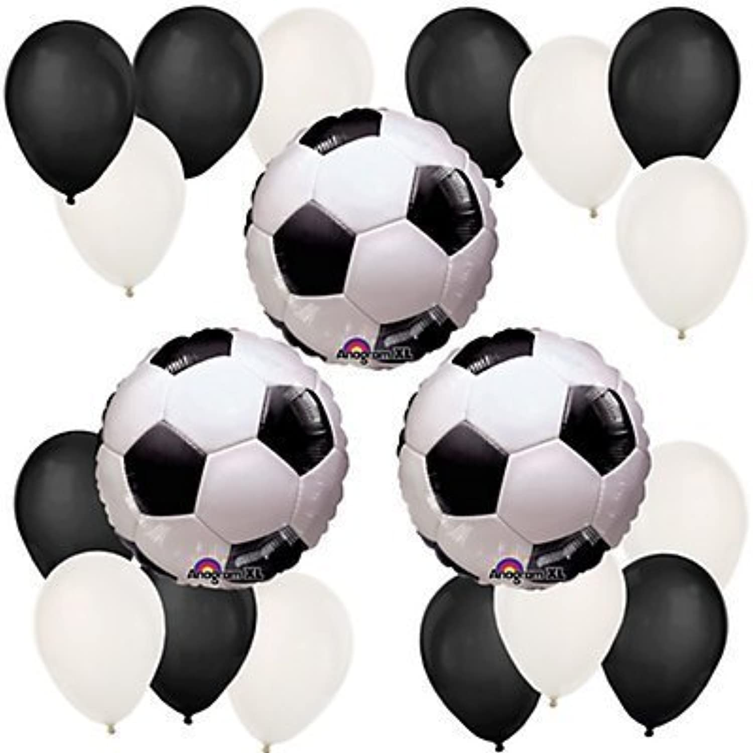Goaaal! Soccer Birthday Party Balloon Kit by Party Supplies [並行輸入品]