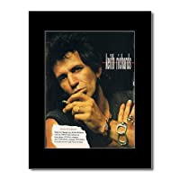 ROLLING STONES - Keith Richards - Talk is Cheap Mini Poster - 28.5x21cm