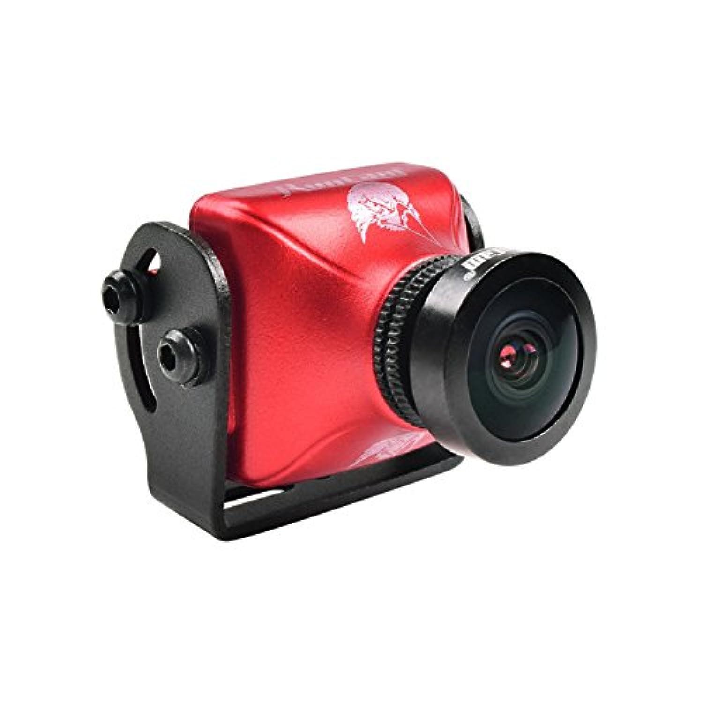 RunCam Eagle 2 800TVL CMOS 2.5mm 16:9切り替え可能 Super WDR FPVカメラ 低レイテンシー - レッド