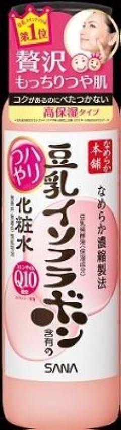 レタス印刷する操作可能常盤薬品工業 サナ なめらか本舗 豆乳イソフラボン含有のハリつや化粧水 200ml×36点セット (4964596402371)