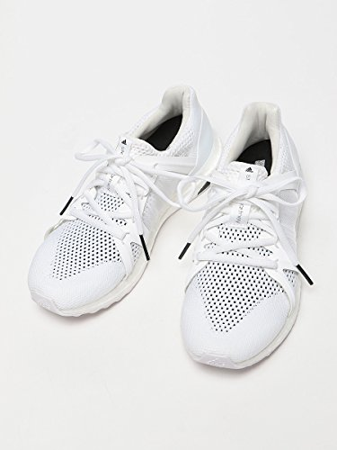 (アディダス バイ ステラ マッカートニー) adidas by Stella McCartney メッシュ ロゴ ローカット スニーカー RUN ウルトラブースト [【ADSMBB0820】] ホワイト / 4.5 [並行輸入品]