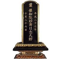 「位牌初回購入の文字入れ代」 販売元が「野田木工」位牌文字入れ代金です。