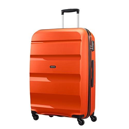 [アメリカンツーリスター] スーツケース BON AIR ボンエアー スピナー75 91L 4.1kg 無料預入受託サイズ  保証付 91L 75cm 4.1kg 85A*96003 96 フレイムオレンジ