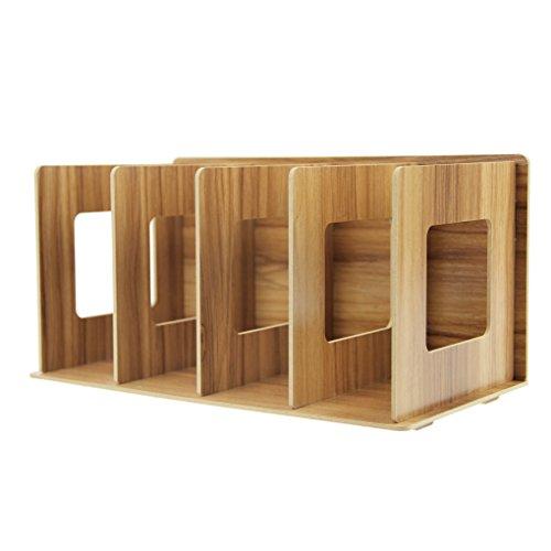 本立て 卓上 木製 本棚 シンプ...