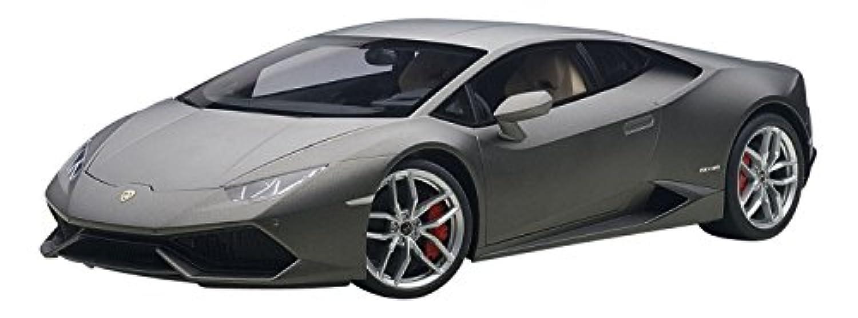AUTOart 1/12 ランボルギーニ ウラカン LP610-4 マット?グレー 完成品
