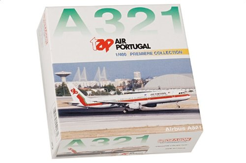 """1:400 ドラゴンモデルズ 55218 エアバス A321 ダイキャスト モデル TAP CS-TJE """"Pero Vaz de Caminha""""【並行輸入品】"""