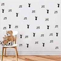 Buzdao 草とサボテンDiyウォールステッカーリビングルームホームデコレーションアクセサリーRemvableウォールステッカー寝室の装飾