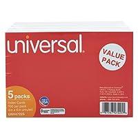 新しいUnruledインデックスカード; 4x 6;白; 500-pack # 47225( 1パック)