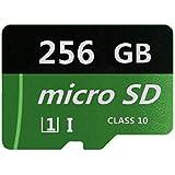256GB 超高速(クラス10)TF MicroSD カード メモリカード SDスピードクラス データ転送 スマホ カメラ ターブレッドPC パソコン kindle 等 対応 MicroSDカード 大容量
