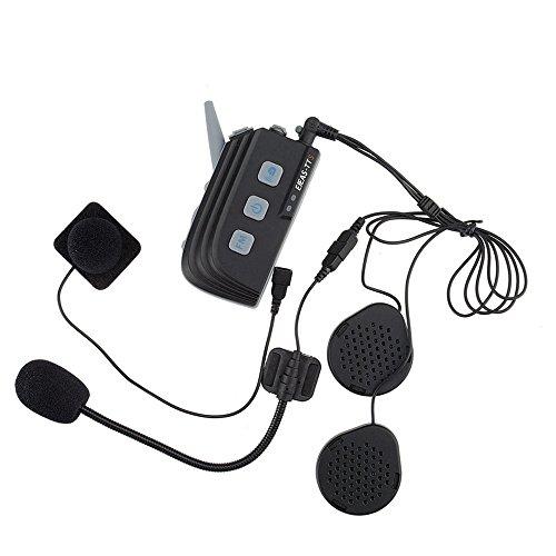 GAOHOU EJEAS TTS Bluetoothインターコムフルデュプレックス4ライダーアウトドアスポーツグループトーク
