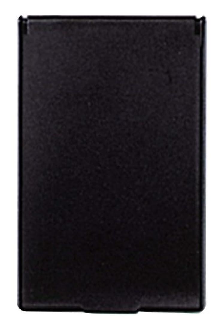 債務チャーム交じるビブレ 角型 コンパクトミラー S ブラック Y-3572