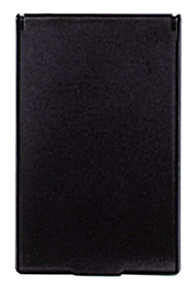 並外れたはげ文庫本ビブレ 角型 コンパクトミラー S ブラック Y-3572