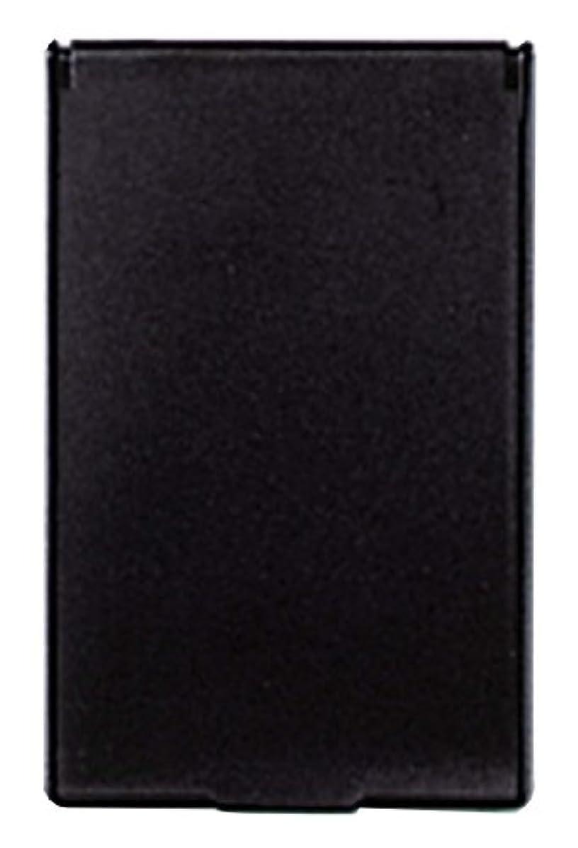 過剰不要かりてビブレ 角型 コンパクトミラー S ブラック Y-3572