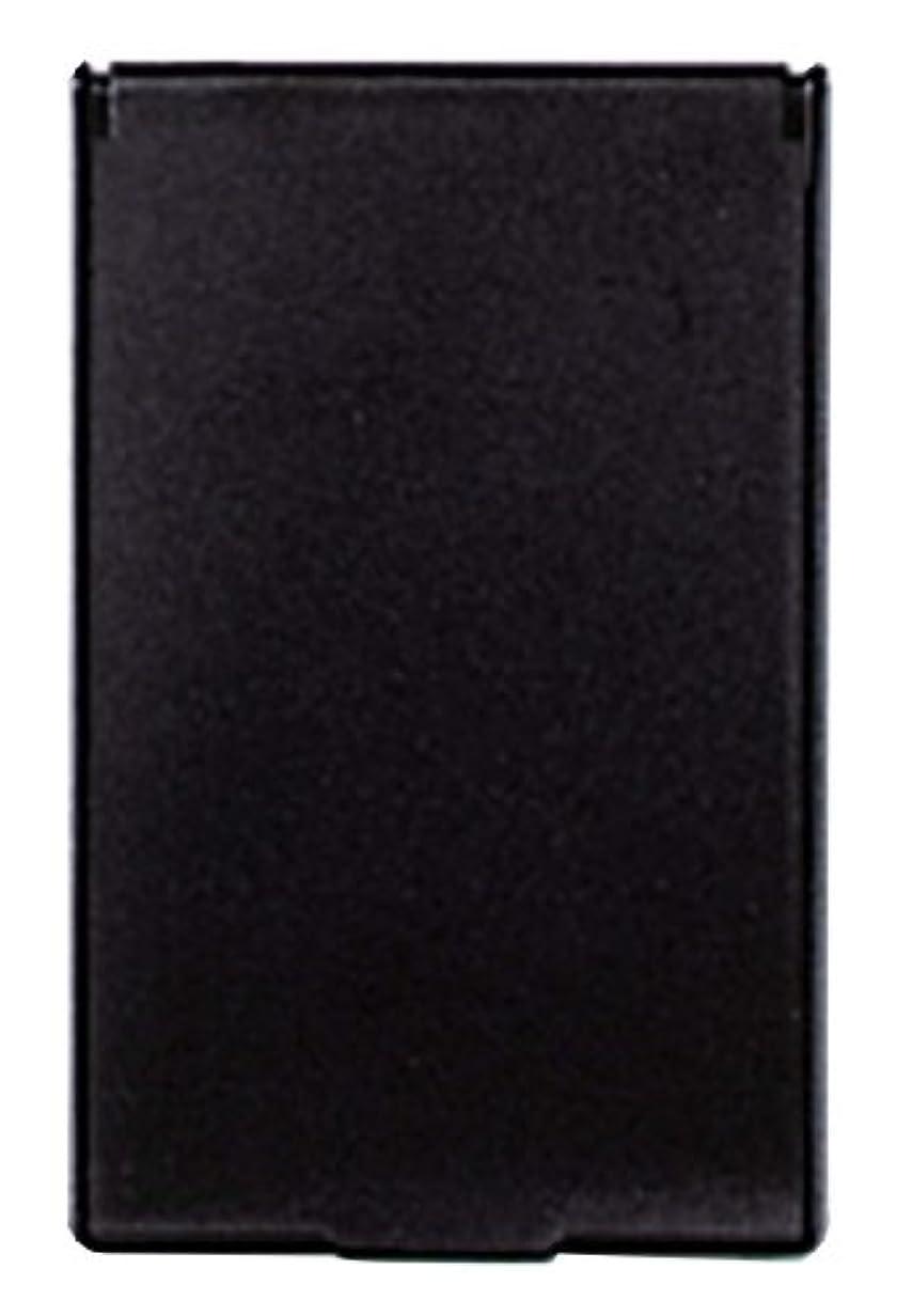 高齢者証人ポルティコビブレ 角型 コンパクトミラー S ブラック Y-3572