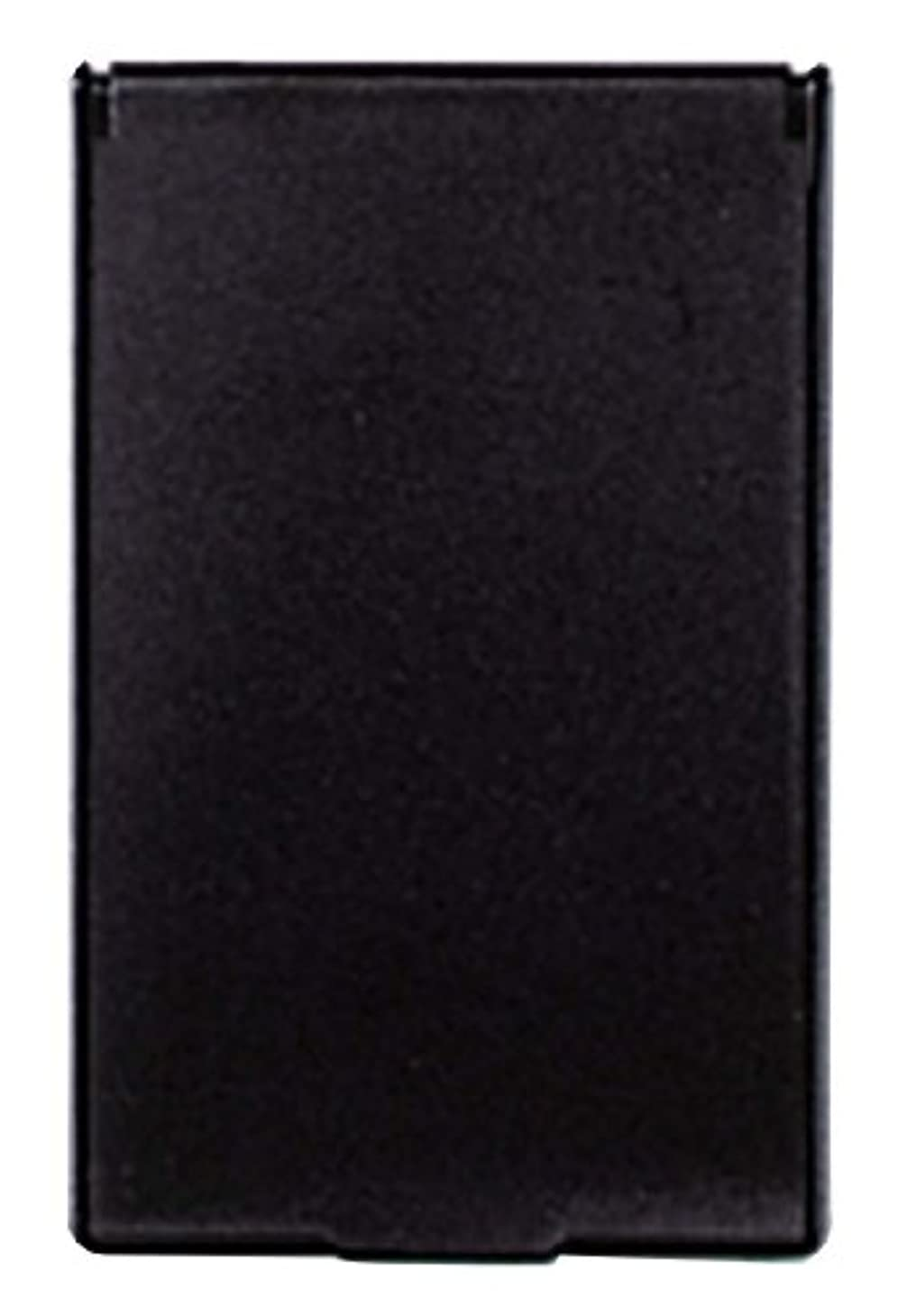 決済十年接触ビブレ 角型 コンパクトミラー S ブラック Y-3572
