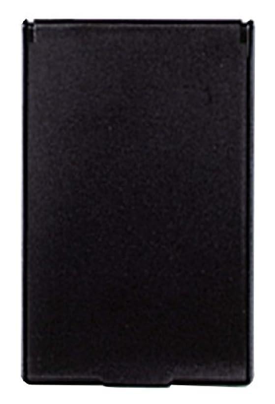 有力者フクロウ不潔ビブレ 角型 コンパクトミラー S ブラック Y-3572