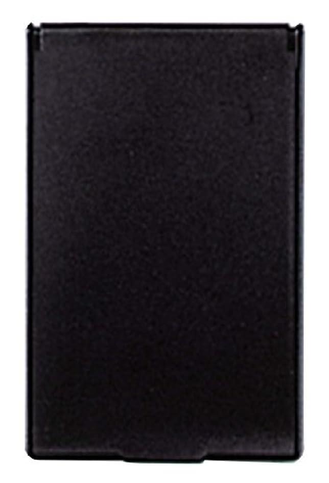 自治ロイヤリティ水っぽいビブレ 角型 コンパクトミラー S ブラック Y-3572
