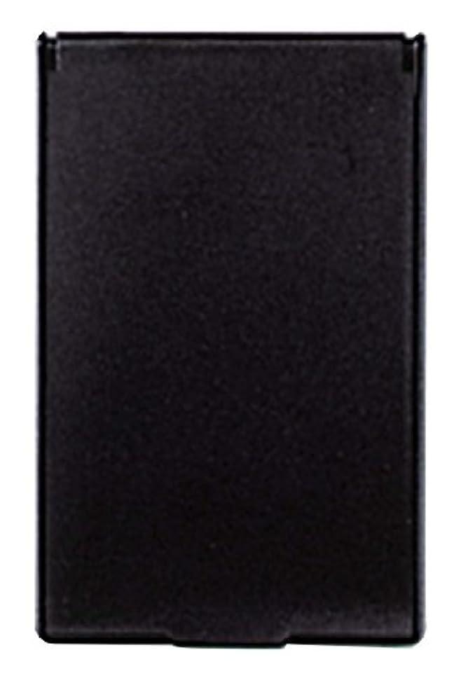 有名人アセ受付ビブレ 角型 コンパクトミラー S ブラック Y-3572