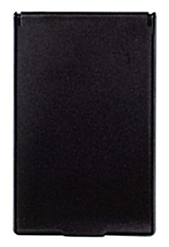 ビルダー最も早いさようならビブレ 角型 コンパクトミラー S ブラック Y-3572