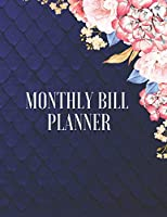 Monthly Bill Organizer: Monthly Bill Planner With Income List,Weekly Expense Tracker ,Bill Planner, Financial Planning Journal Expense Tracker Bill ... Notebook (Financial Planner Budget Book): Cute Personalized Empty Notebook (146 Pages 17.59 x 11.25)