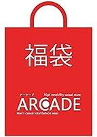(アーケード) ARCADE 【福袋】 メンズ 2016新春 福袋 (アウター2+ニット2+ボトム1+トップス1+バッグ1+小物1)