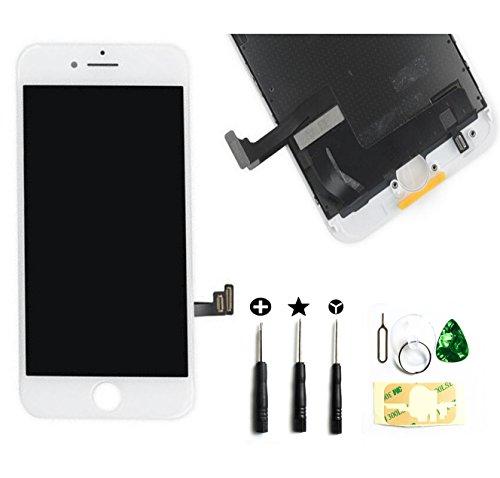 PassionTR iPhone 7 修理交換用フロントパネルセット タッチ...