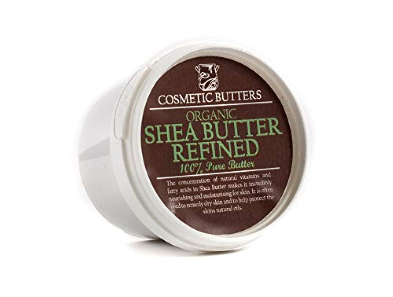 発行酸素抜け目のないShea Butter Refined Organic - 100% Pure and Natural - 100g