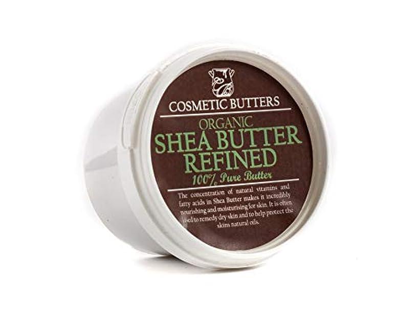 ピンポイントタール大声でShea Butter Refined Organic - 100% Pure and Natural - 100g
